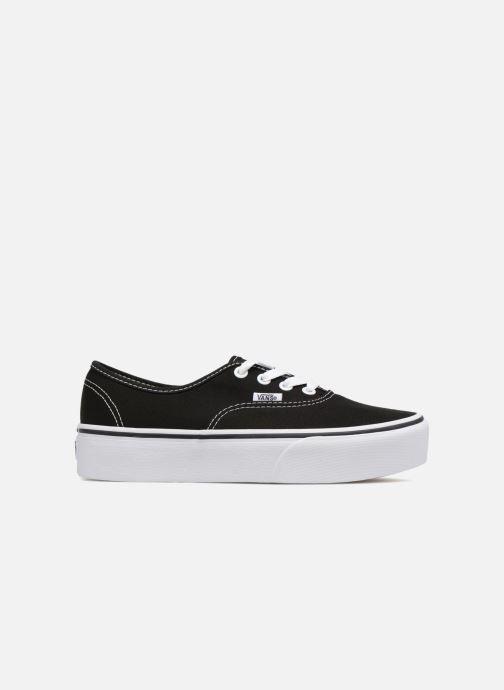 Sneaker Vans Authentic Platform 2.0 schwarz ansicht von hinten