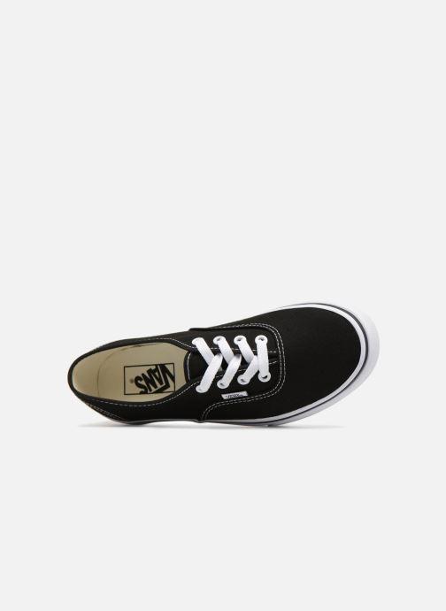 Sneaker Vans Authentic Platform 2.0 schwarz ansicht von links