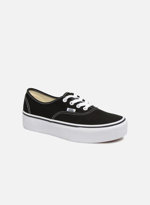 Sneaker Vans Authentic Platform 2.0 schwarz detaillierte ansicht/modell