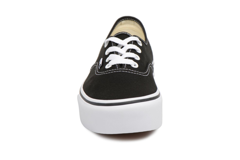 Baskets Vans Authentic Platform 2.0 Noir vue portées chaussures