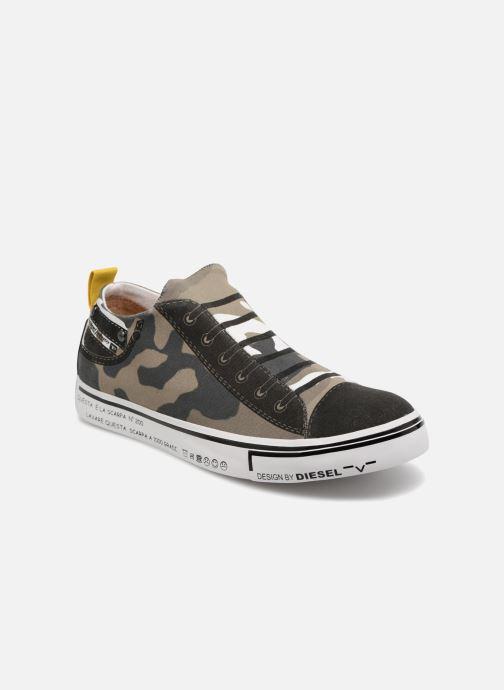 """Sneakers Diesel """"IMAGINEE"""" S-IMAGINEE LOW SLIP-ON Grön detaljerad bild på paret"""