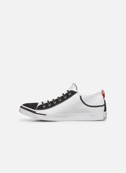 "Sneakers Diesel ""IMAGINEE"" S-IMAGINEE LOW SLIP-ON Vit bild från framsidan"