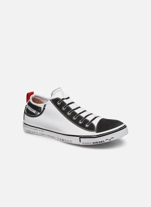 "Sneakers Diesel ""IMAGINEE"" S-IMAGINEE LOW SLIP-ON Vit detaljerad bild på paret"