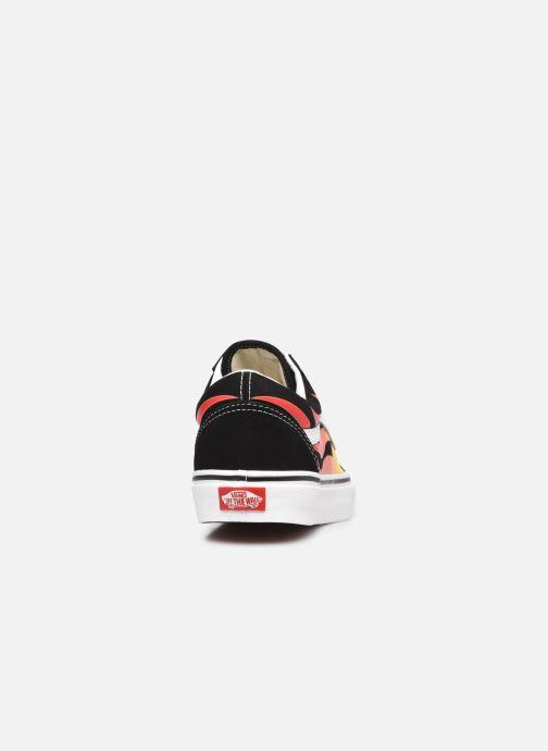 Sneaker Vans UA Old Skool schwarz ansicht von rechts