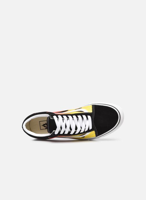 Sneaker Vans UA Old Skool schwarz ansicht von links