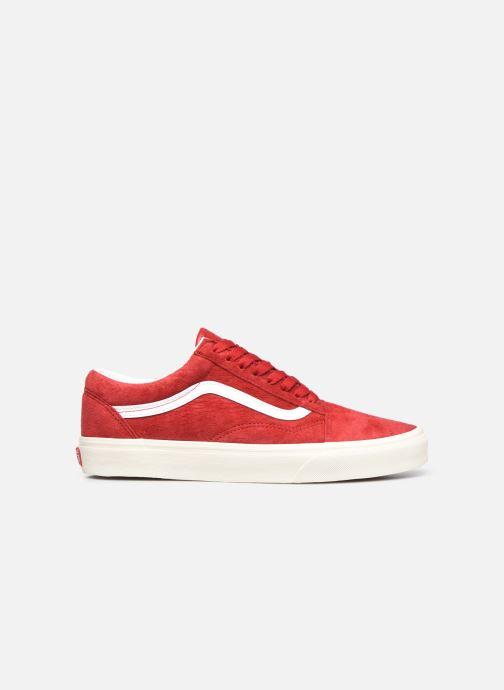 Sneaker Vans UA Old Skool rot ansicht von hinten