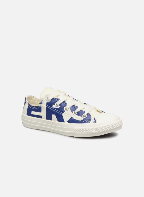 be7d7878d1150c Trainers Converse Chuck Taylor All Star Ox Converse Wordmark Beige detailed  view  Pair view