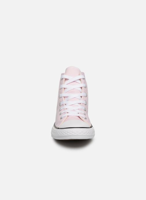 Sneaker Converse Chuck Taylor All Star Hi Seasonal Color rosa schuhe getragen