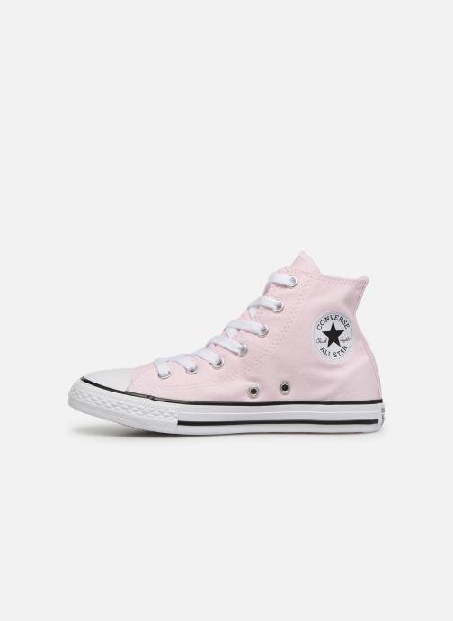 Sneaker Converse Chuck Taylor All Star Hi Seasonal Color rosa ansicht von vorne