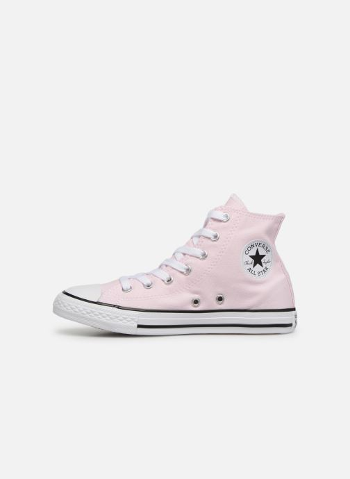 Baskets Converse Chuck Taylor All Star Hi Seasonal Color Rose vue face