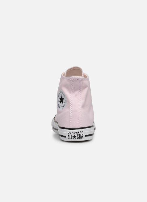 Sneaker Converse Chuck Taylor All Star Hi Seasonal Color rosa ansicht von rechts