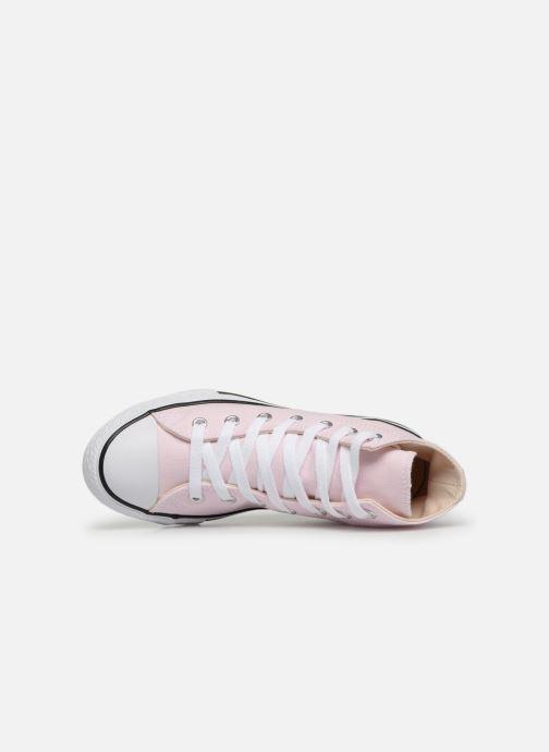 Sneaker Converse Chuck Taylor All Star Hi Seasonal Color rosa ansicht von links