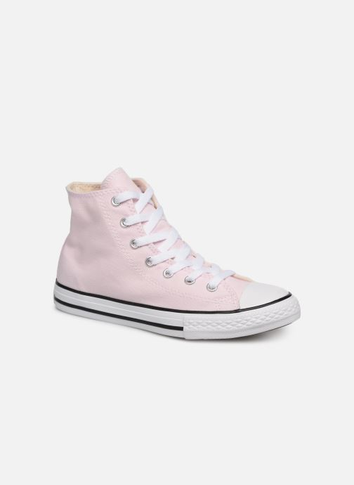 Trainers Converse Chuck Taylor All Star Hi Seasonal Color Pink detailed view/ Pair view