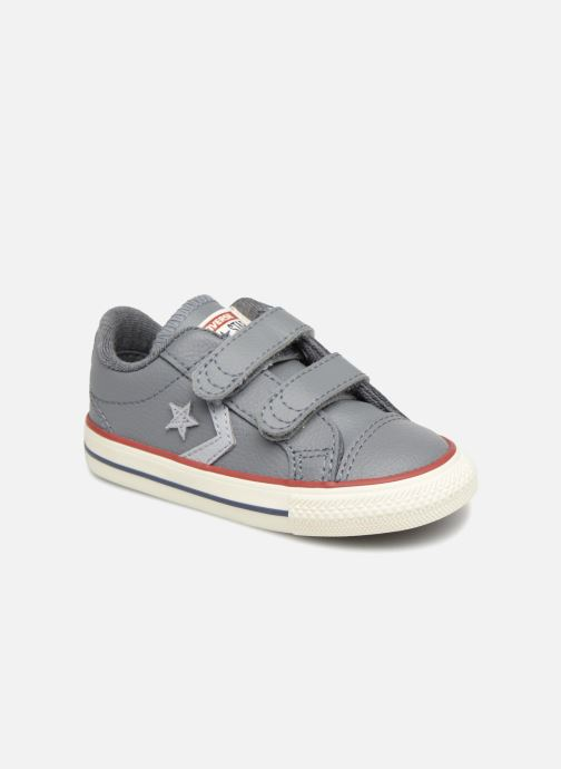 Trainers Converse Star Player EV 2V Ox Sport Canvas Grey detailed view/ Pair view