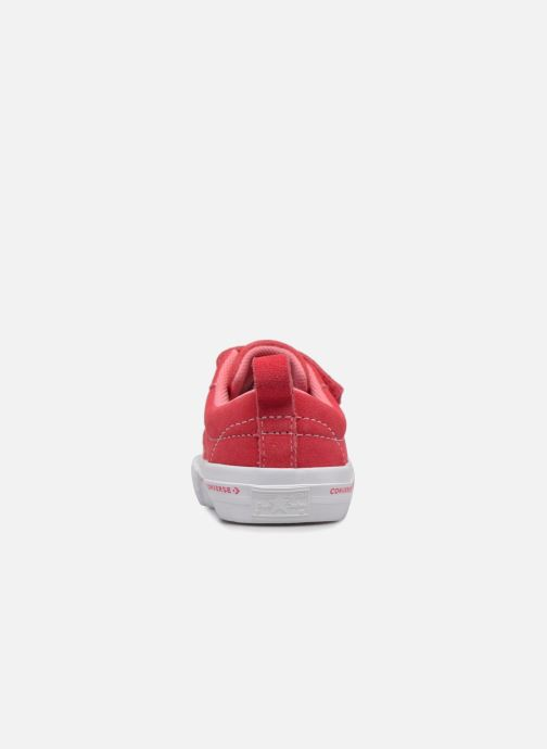 Sneakers Converse One Star 2V Ox Converse Wordmark Suede Rosa immagine destra