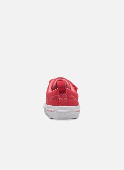 Sneakers Converse One Star 2V Ox Converse Wordmark Suede Roze rechts
