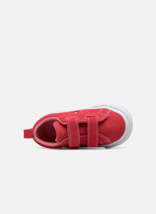 Sneakers Converse One Star 2V Ox Converse Wordmark Suede Rosa immagine sinistra