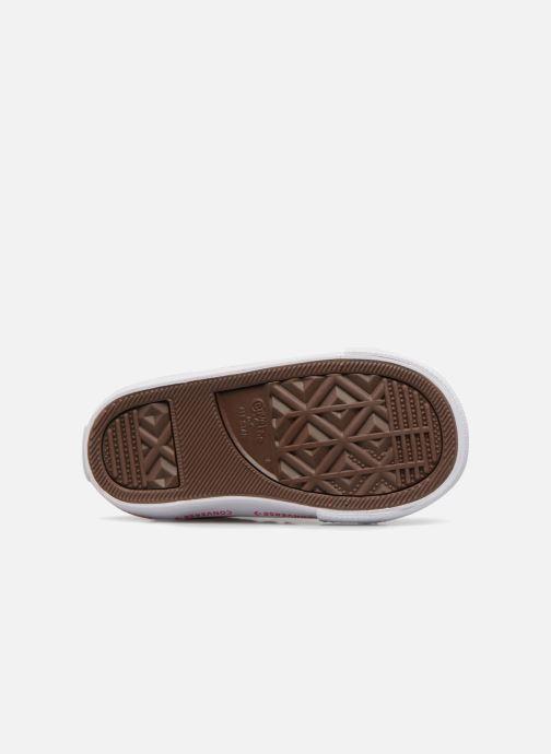 Sneakers Converse One Star 2V Ox Converse Wordmark Suede Rosa immagine dall'alto