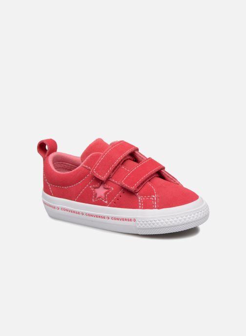 Sneakers Converse One Star 2V Ox Converse Wordmark Suede Rosa vedi dettaglio/paio