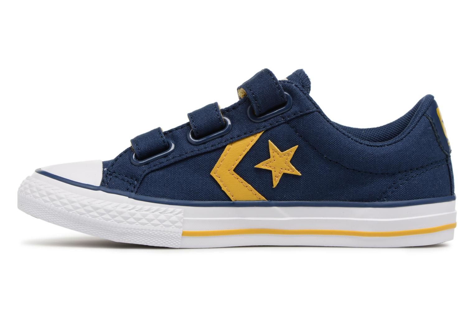 Baskets Converse Star Player EV 3V Ox Sport Canvas Bleu vue face