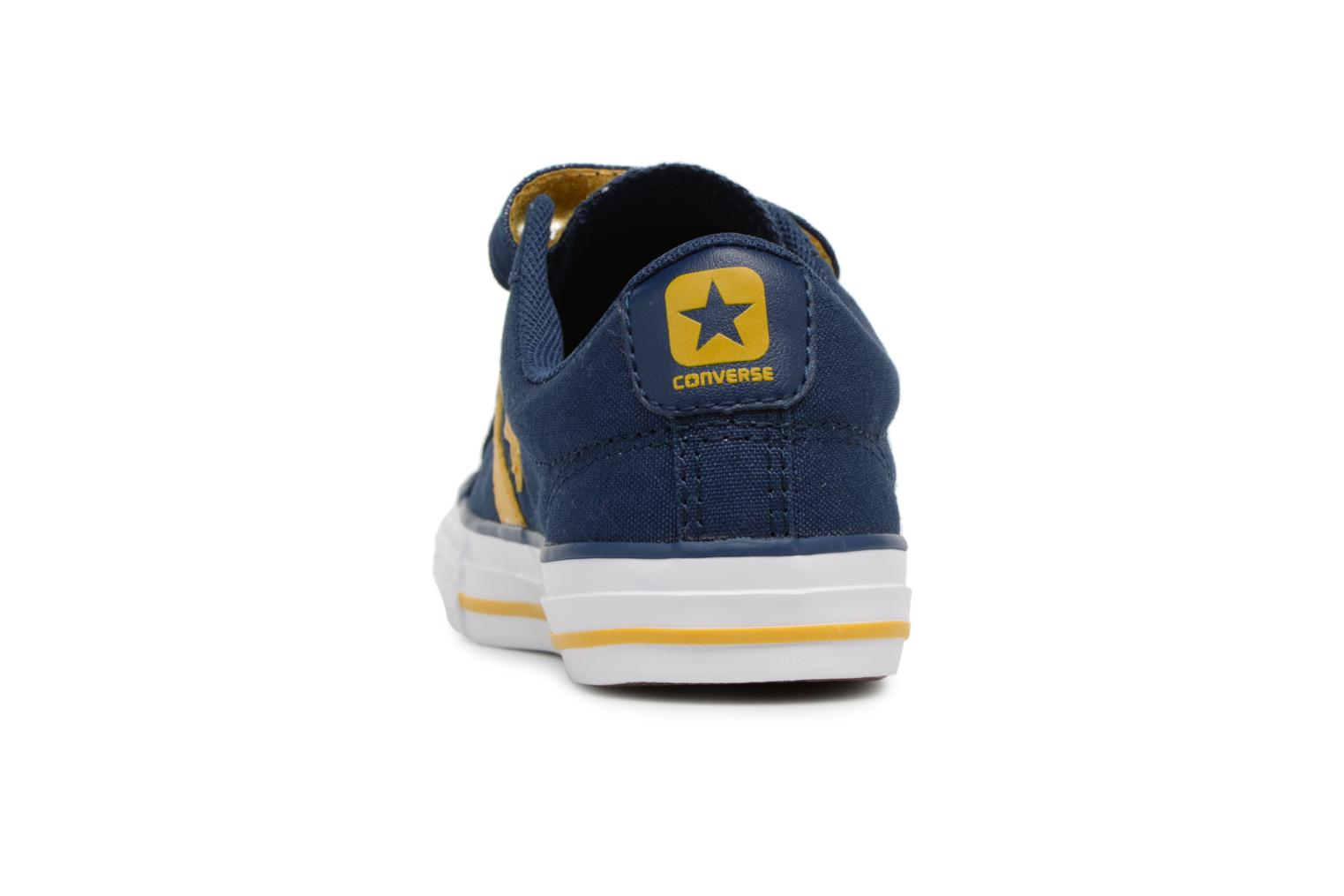 Baskets Converse Star Player EV 3V Ox Sport Canvas Bleu vue droite