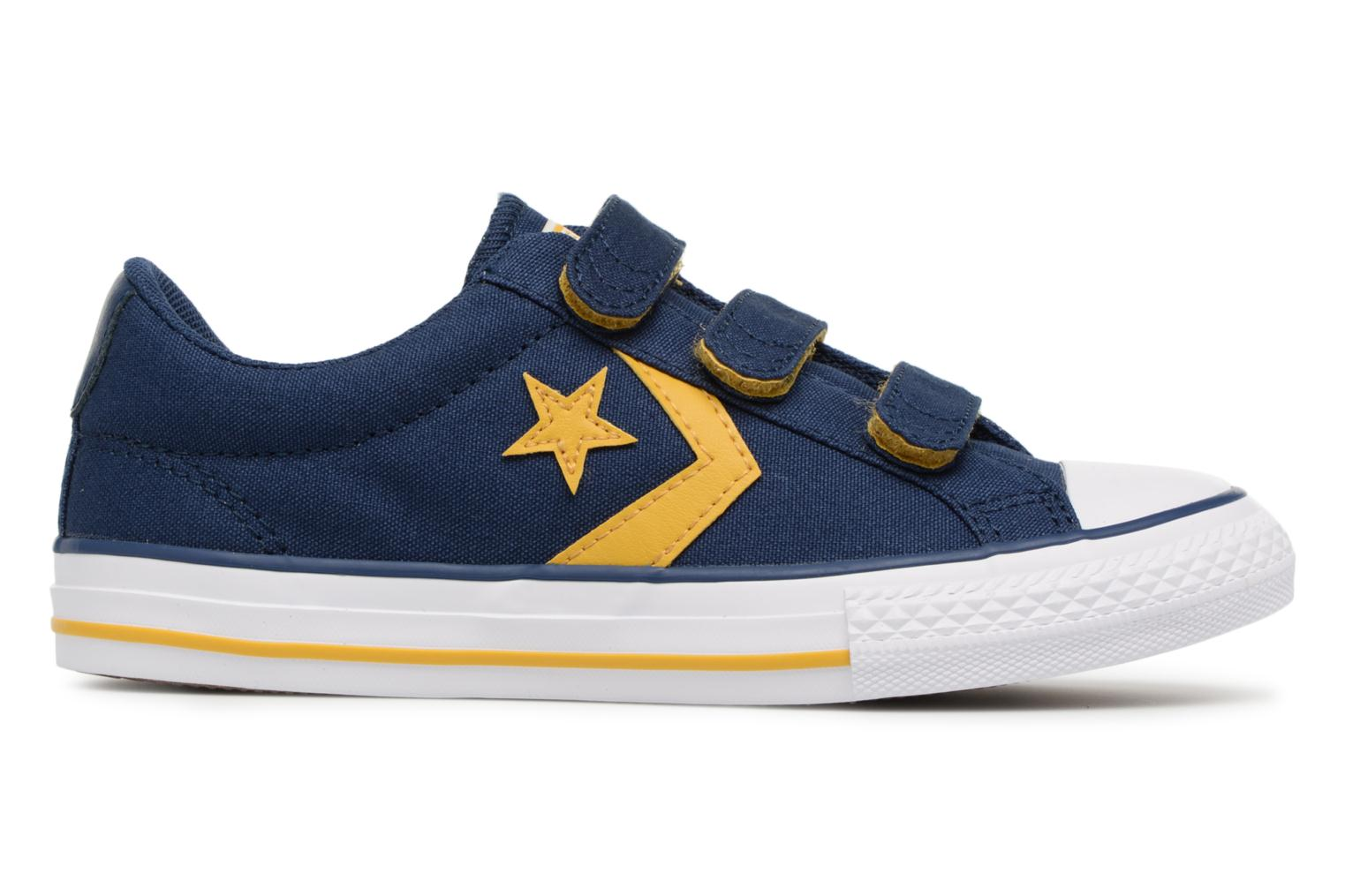 Baskets Converse Star Player EV 3V Ox Sport Canvas Bleu vue derrière