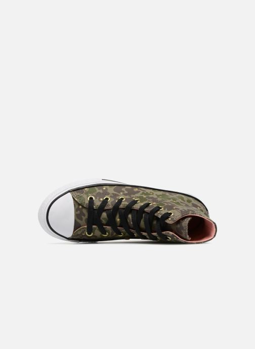 Sneakers Converse Chuck Taylor All Star Hi Camo Gold Star Groen links
