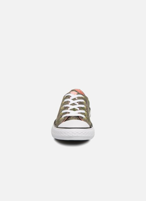 Trainers Converse Chuck Taylor All Star Ox Camo Gold Star Green model view