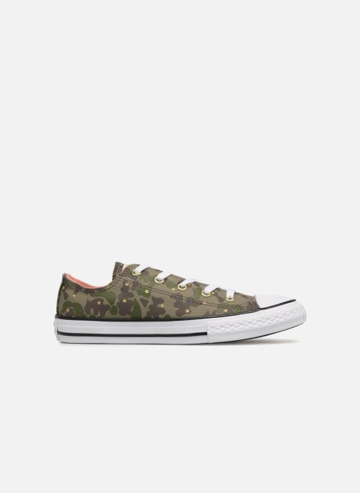 Trainers Converse Chuck Taylor All Star Ox Camo Gold Star Green back view