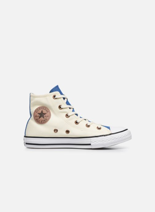 b9c41bce0a9e Baskets Converse Chuck Taylor All Star Hi Two Color Chambray Beige vue  derrière