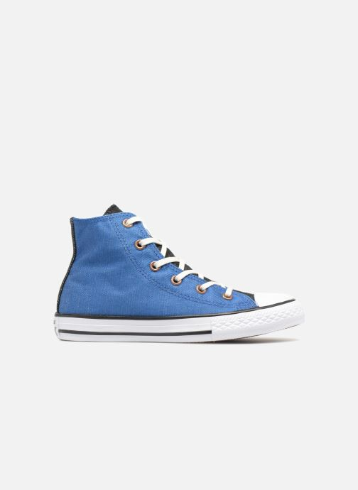 baeb6915d605 Trainers Converse Chuck Taylor All Star Hi Two Color Chambray Blue back view