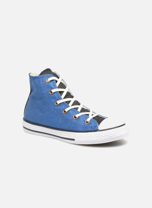 9e5ddd8cfb62 Trainers Converse Chuck Taylor All Star Hi Two Color Chambray Blue detailed  view  Pair view