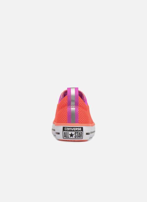 Sneaker Converse Chuck Hyper Light Ox Mixed Textile rosa ansicht von rechts