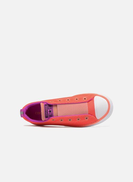 Sneaker Converse Chuck Hyper Light Ox Mixed Textile rosa ansicht von links