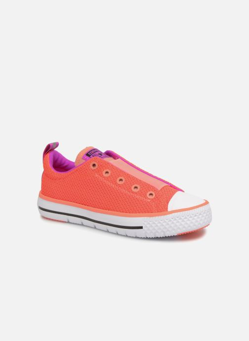 253e429d5aa Trainers Converse Chuck Hyper Light Ox Mixed Textile Pink detailed view   Pair view