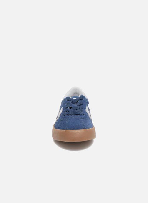 Baskets Converse Breakpoint Ox Suede + Gum Bleu vue portées chaussures