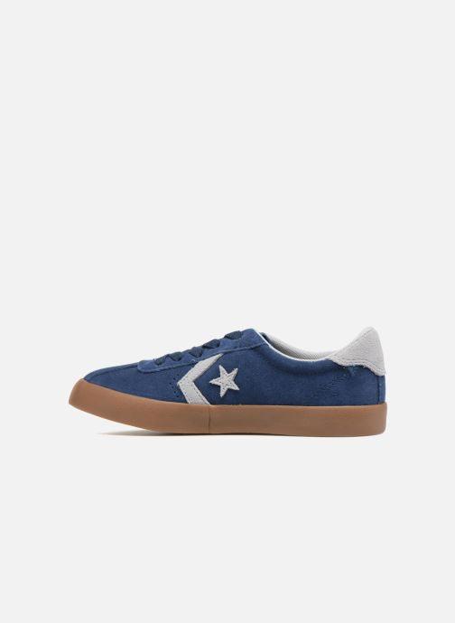 Baskets Converse Breakpoint Ox Suede + Gum Bleu vue face