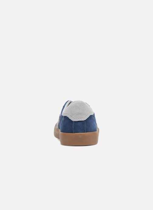 Baskets Converse Breakpoint Ox Suede + Gum Bleu vue droite