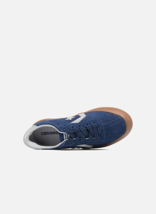 Sneakers Converse Breakpoint Ox Suede + Gum Blauw links