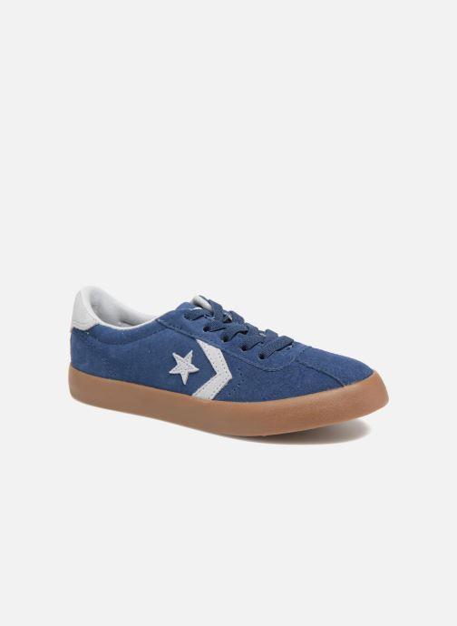 Baskets Converse Breakpoint Ox Suede + Gum Bleu vue détail/paire