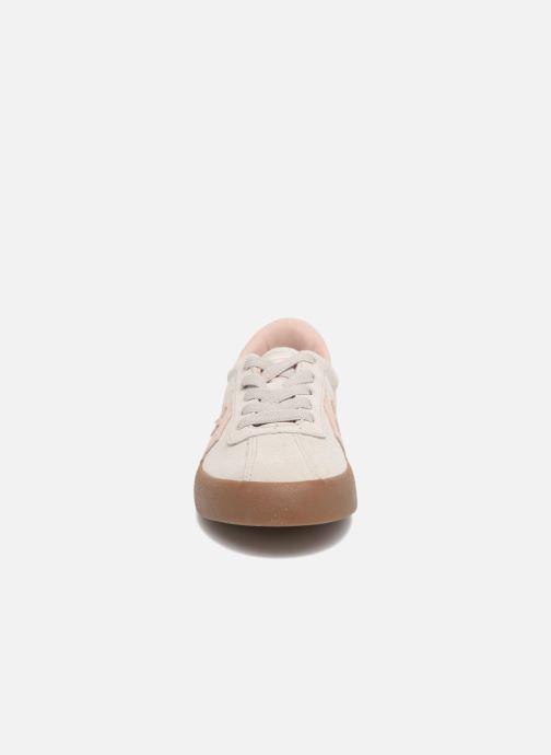 Baskets Converse Breakpoint Ox Suede + Gum Beige vue portées chaussures