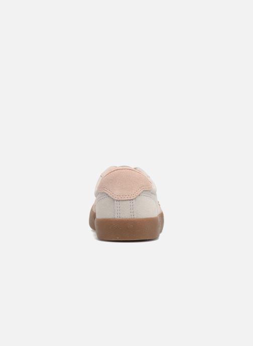 Baskets Converse Breakpoint Ox Suede + Gum Beige vue droite