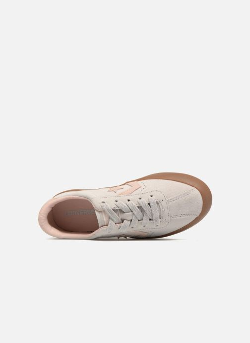 Trainers Converse Breakpoint Ox Suede + Gum Beige view from the left