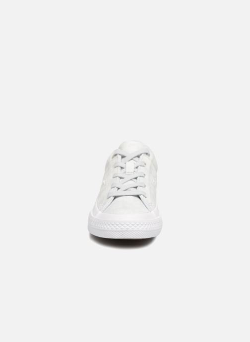 Sneakers Converse One Star Ox Peached Wash Zilver model