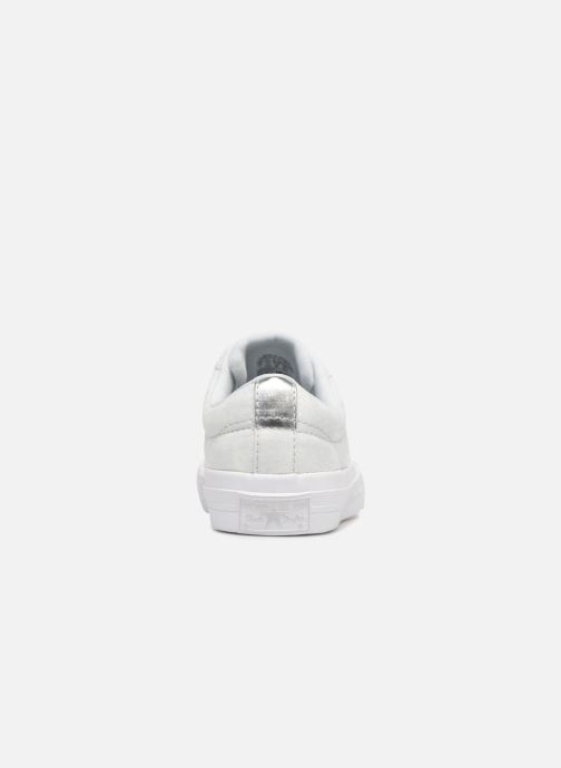 Sneakers Converse One Star Ox Peached Wash Zilver rechts