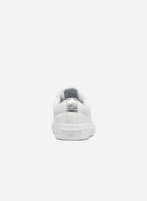 Baskets Converse One Star Ox Peached Wash Argent vue droite