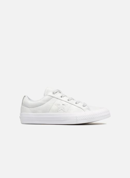 Sneakers Converse One Star Ox Peached Wash Zilver achterkant