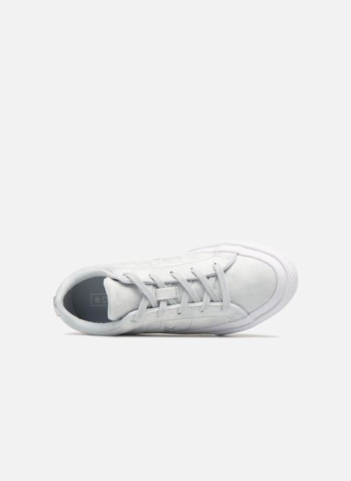 Trainers Converse One Star Ox Peached Wash Silver view from the left