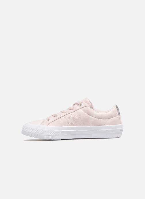 Baskets Converse One Star Ox Peached Wash Rose vue face