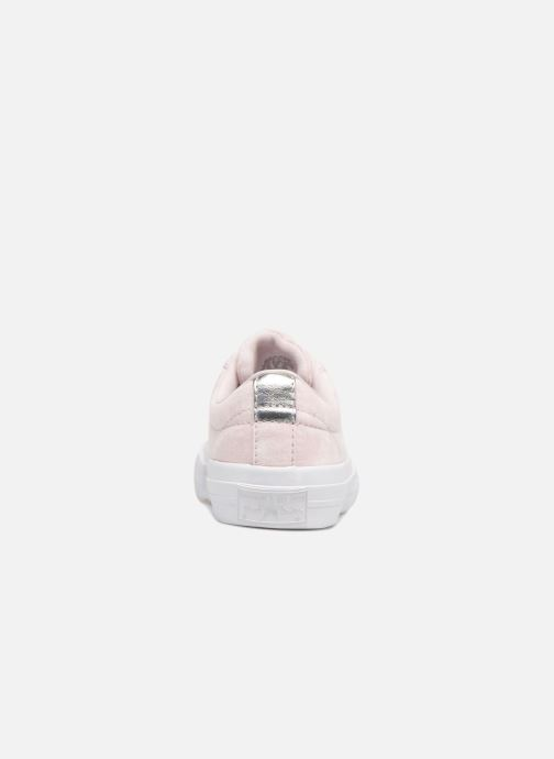 Deportivas Converse One Star Ox Peached Wash Rosa vista lateral derecha